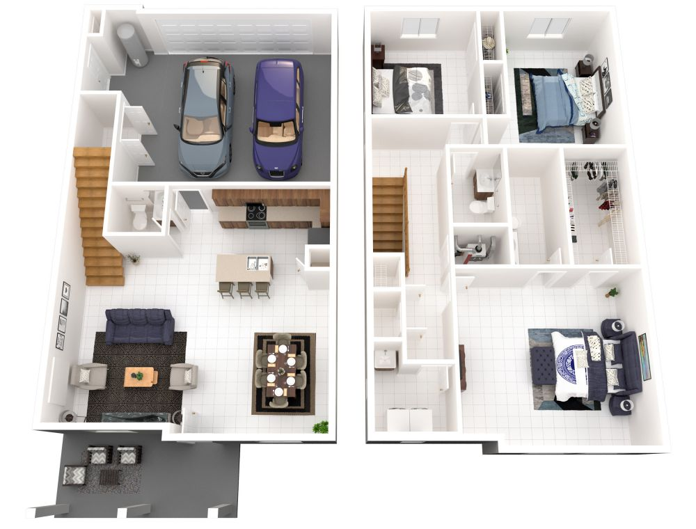 #122 (3 Bedroom 2.5 Bathrooms)