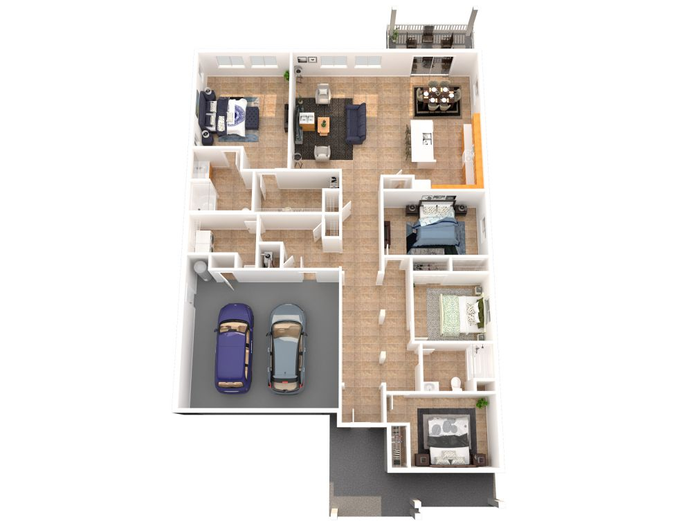 #225 (4 Bedroom 2 Bathrooms)