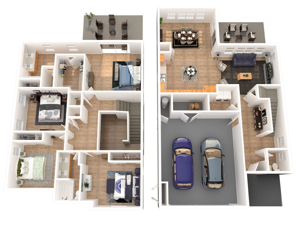 #226 (4 Bedroom 2.5 Bathrooms)