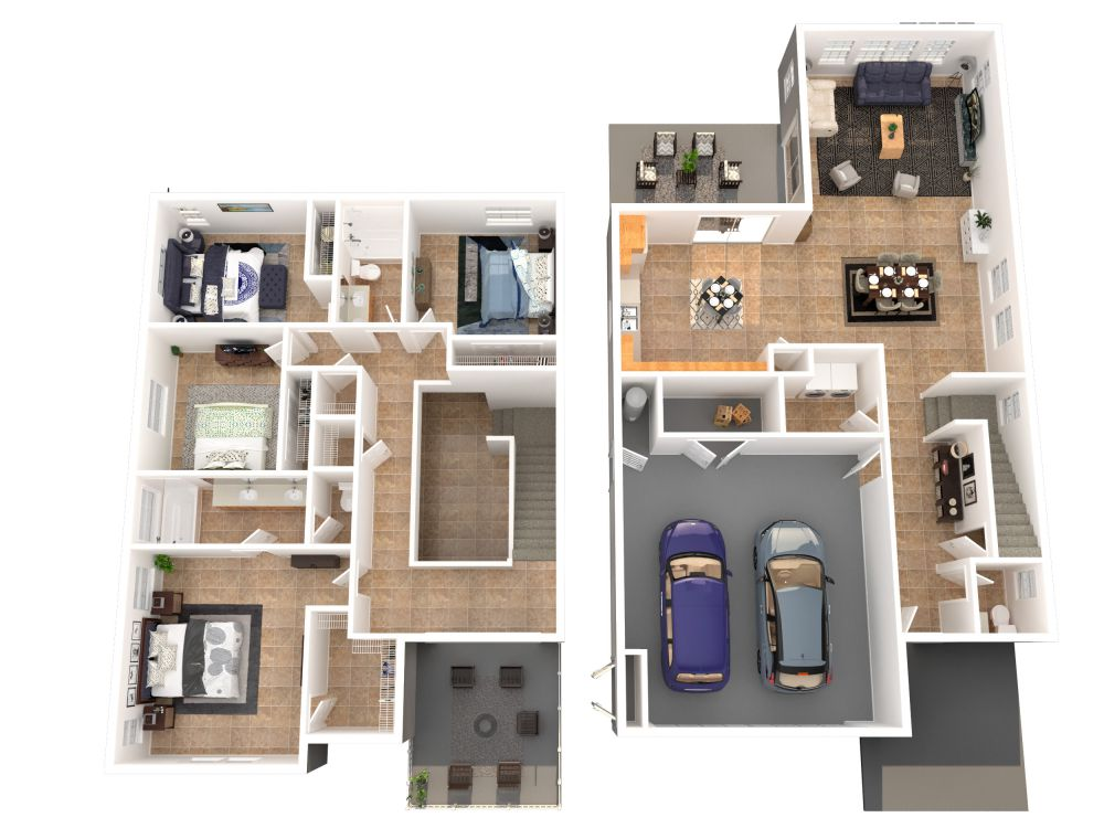 #227 (4 Bedroom 2.5 Bathrooms)